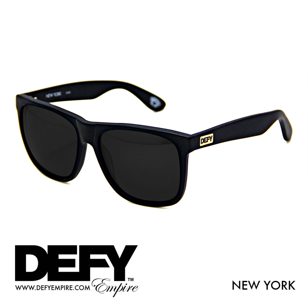 NEW YORK MATTE BLACK / GREY