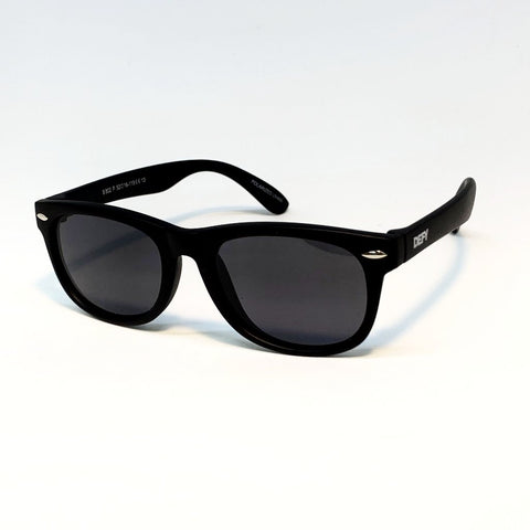 FLORIDA KIDS - MATTE BLACK / GREY POLARIZED SUNGLASS