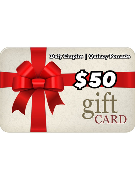 DEFY EMPIRE | QUINCY POMADE GIFT CARD