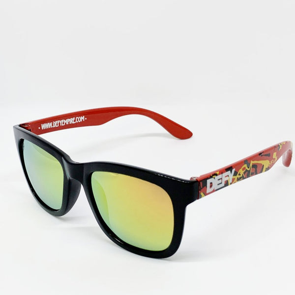 |LIMITED ED| HAWAII RED CAMO GLOSS BLACK/RED POLARIZED SUNGLASS TOP SELLER