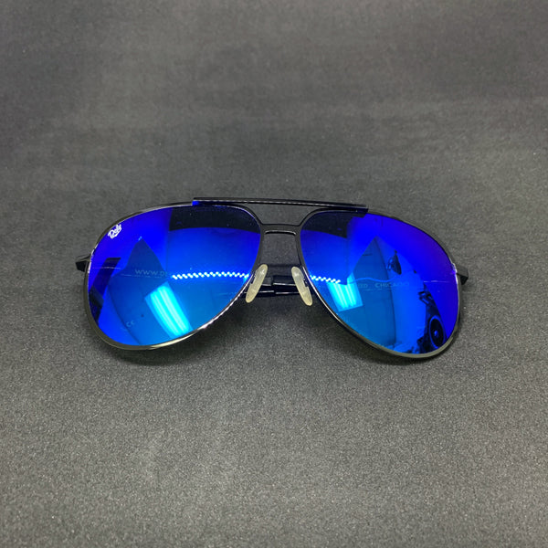 CHICAGO - GLOSS BLACK / BLUE MIRROR POLARIZED SPECIAL EDITION
