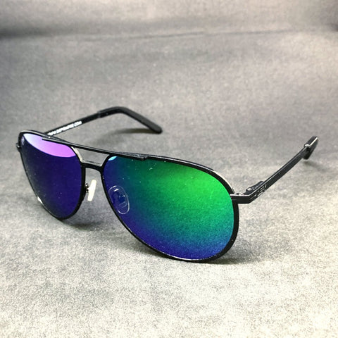 CHICAGO - GLOSS BLACK / GREEN MIRROR POLARIZED SPECIAL EDITION