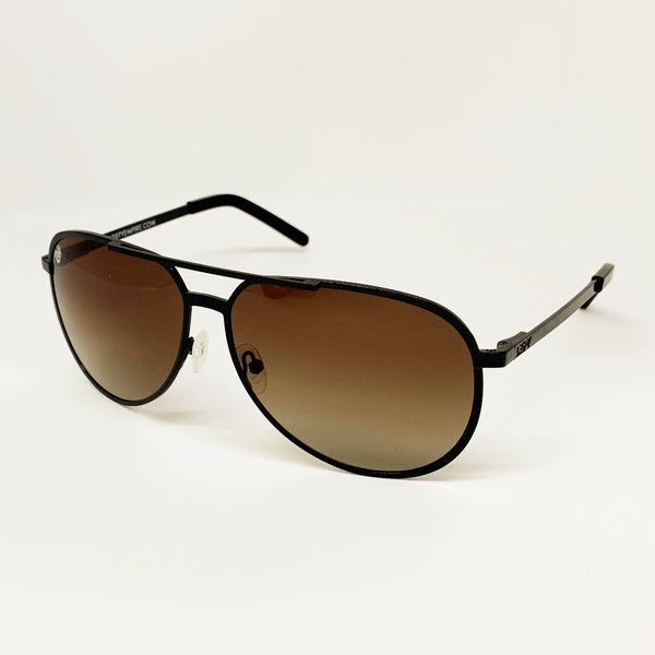 CHICAGO - GLOSS BLACK / BRONZE GRADIENT POLARIZED