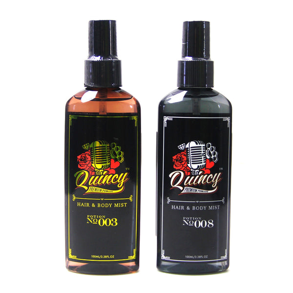 "QUINCY HAIR AND BODY MIST 100ML #003 ""CLASSIC DEBONAIR"" ALOE VERA"