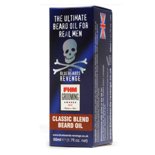 Bluebeards Revenge Classic Blend Beard Oil 50ml