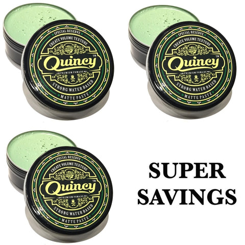BUNDLE DEAL - 3 QUINCY SPECIAL RESERVE MATTE PASTE 150ML BEST SAVINGS