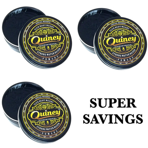 BUNDLE DEAL - 3 QUINCY SPECIAL RESERVE POMADE 150ML