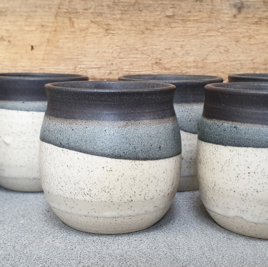 Multi-toned Rounded Beakers