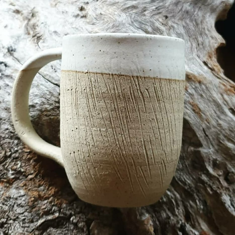 'Etched' Mugs