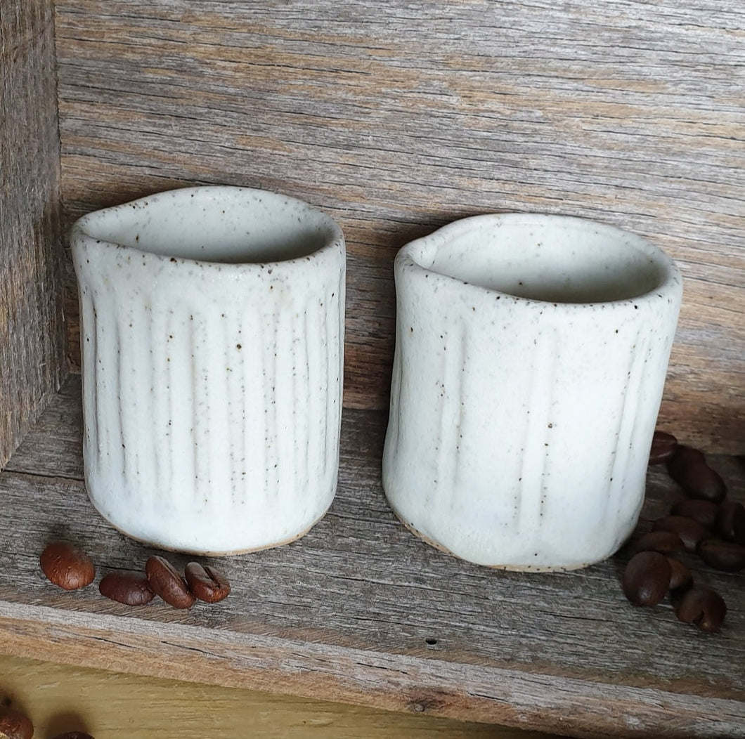 Carved Mini Jug/Pourer
