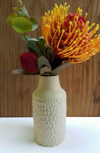 Load image into Gallery viewer, Oatmeal textured bottle vase