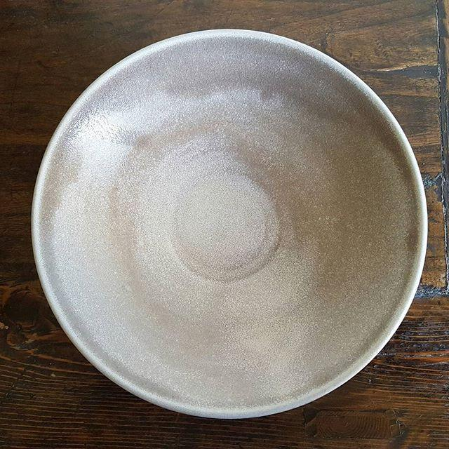 Shallow Grey Bowl