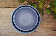 Load image into Gallery viewer, Speckled Cobalt Bowl Set