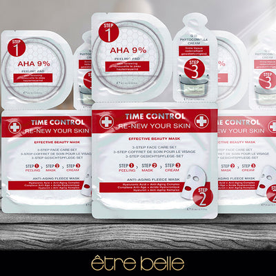 Set Renovador facial anti-edad 3 pasos Time Control