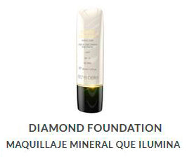 diamond foundation maquillaje de farmacia distintos tonos