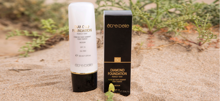 Maquillaje mineral iluminador Diamond Foundation