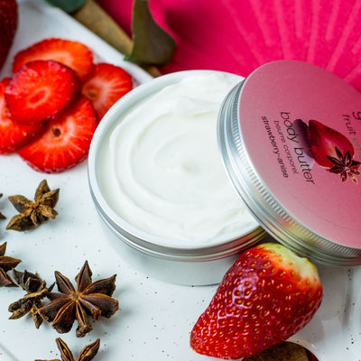 Body butter fresa y anís
