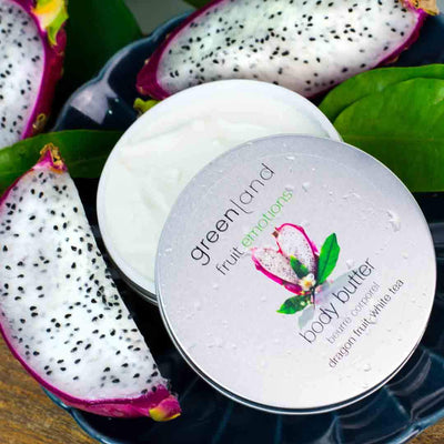 Body butter fruta del dragón y té blanco