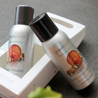 Set Mousse Sensaciones shower + body lotion pomelo y jengibre