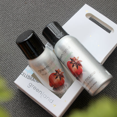 Set Mousse Sensaciones shower + body lotion fresa y anis