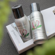Set Mousse Sensaciones shower + body lotion fruta de dragón y té blanco