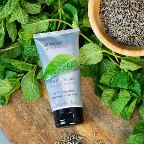 Foot lotion menta y lavanda