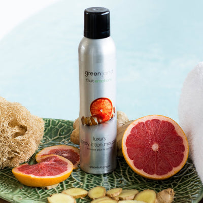 Body lotion mousse pomelo y jengibre