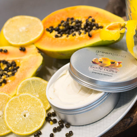 Body butter papaya y limón