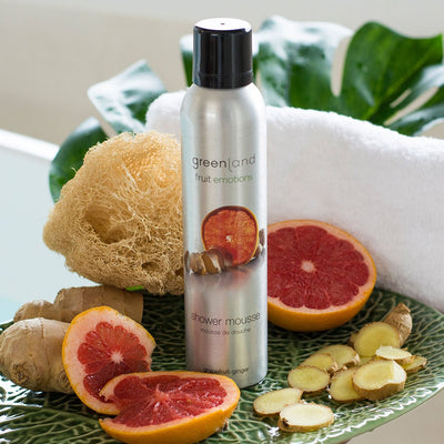 Shower mousse pomelo y jengibre