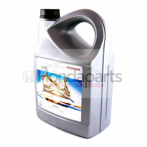 Genuine Honda HFS-5W-40 Engine Oil. 4 Litres