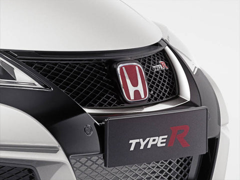 Genuine Honda Civic Type'R Front Grille Garnish (Chrome) (2016-)