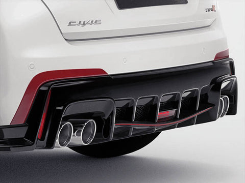 Genuine Honda Civic Type'R Rear Diffuser Decoration (2016-)
