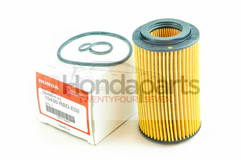 Genuine Honda Oil Filter i-CTDI 2.2 Diesel Engines 15430-RBD-E02