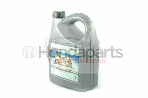 Genuine Honda 0W-20 Type 2.0 Engine Oil. 4 Litre