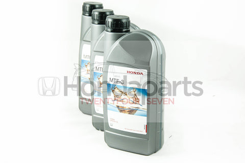 Genuine Honda MTF-3 Manual Transmission Fluid. 3 Litres