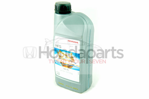 Genuine Honda HFS 5W-40 Engine Oil. 1 Litre
