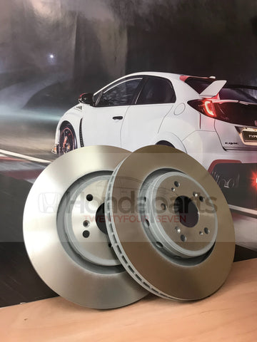 Genuine Honda Front brake discs (CIVIC, CR-V, JAZZ, HR-V, ACCORD, FR-V, S2000)