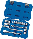 "Draper 40 Piece 3/8"" Square Drive mm/AF Combined Socket Set"