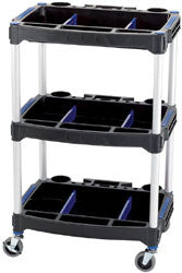 Draper 3 Tier Workshop Trolley