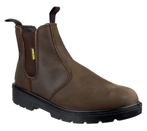 Amblers FS128 Mens Safety Dealer Boots
