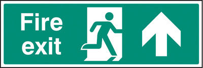 Fire exit - straight on sign