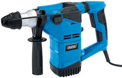 Draper 1500W 230V SDS+ Rotary Hammer Drill Kit With Rotation Stop