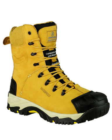 Amblers FS998 Honey Nubuck Safety Boots