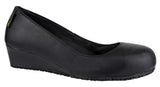 Amblers FS107 Wedge Heel Ladies Safety Court Shoes