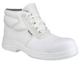 Amblers FS513 White Hygiene Safety Boots