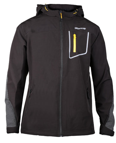 Caterpillar Capstone hooded Softsheel Jacket