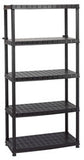 Draper 5 Tier Plastic Shelving Unit
