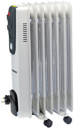 Draper 1.5kW 230V Oil Filled Radiator