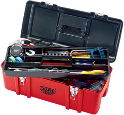 Draper Expert 580mm Tool Box With Tote Tray