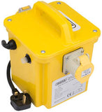 Draper 1kVA 230V To 110V Portable Site Transformer